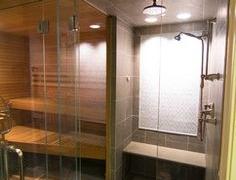 Сауна в ванной комнате